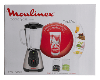 Caja Moulinex Faciclic Glass