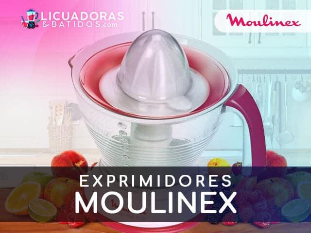 mejores máquinas para exprimir moulinex