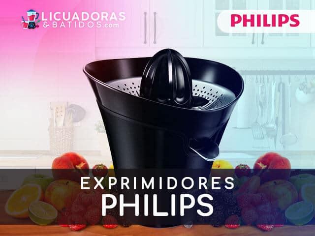 mejores máquinas para exprimir philips