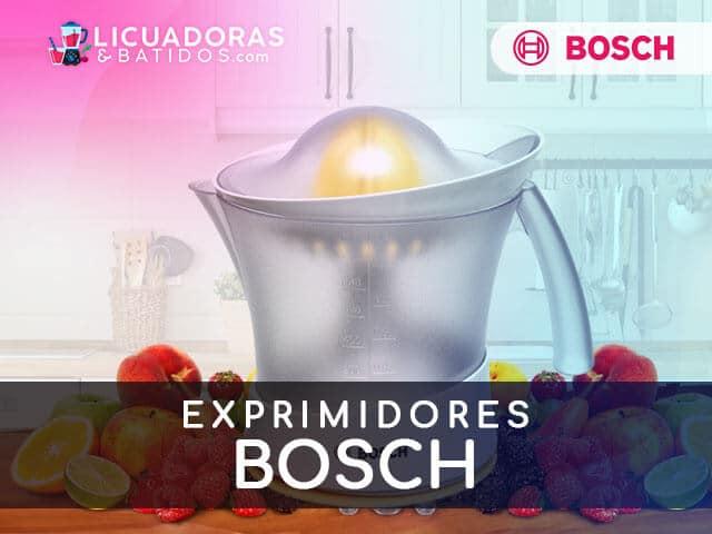 mejores máquinas para exprimir bosch