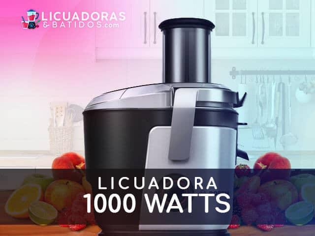 mejores máquinas para licuar 1000W