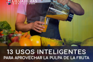13 Usos inteligentes para aprovechar la pulpa de fruta