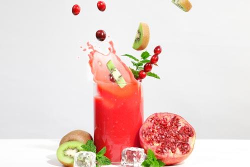 Duración de los nutrientes y la fibra en los zumos naturales