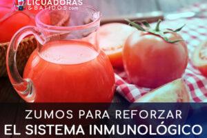 Zumos para reforzar el sistema inmunológico